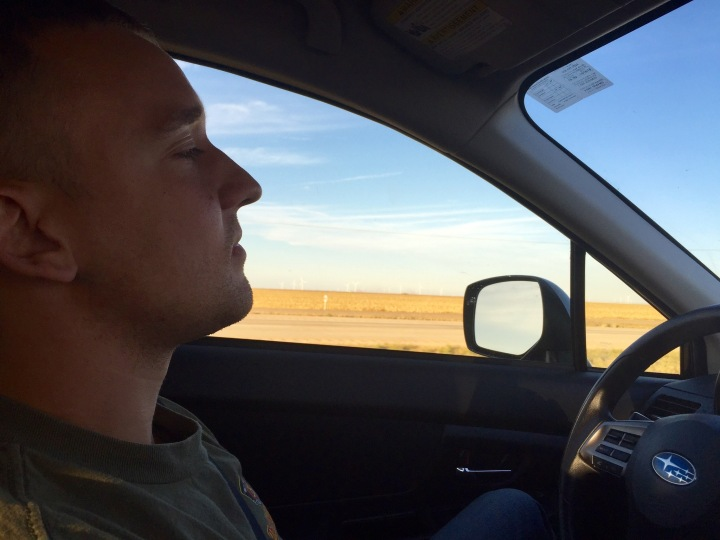 Staying awake on this long stretch to Oklahoma