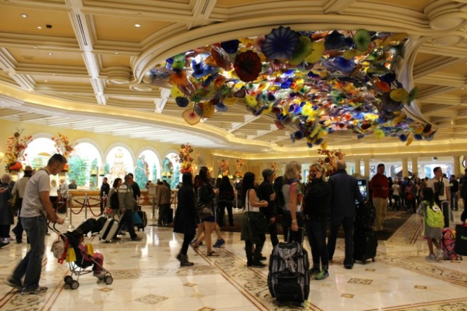 First impression of Bellagio? Breathtaking.