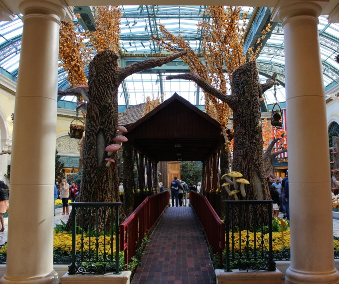 Bellagio knows how to decorate for fall!
